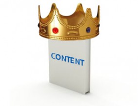 content is king for google